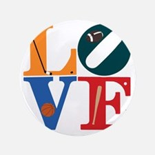 "Philly Sports Love 3.5"" Button"