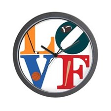 Philly Sports Love Wall Clock