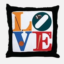 Philly Sports Love Throw Pillow