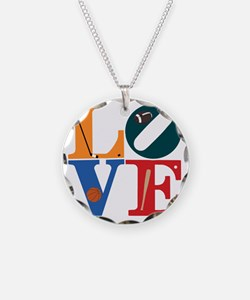 Philly Sports Love Necklace Circle Charm