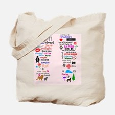 Twis Pink FF Tote Bag