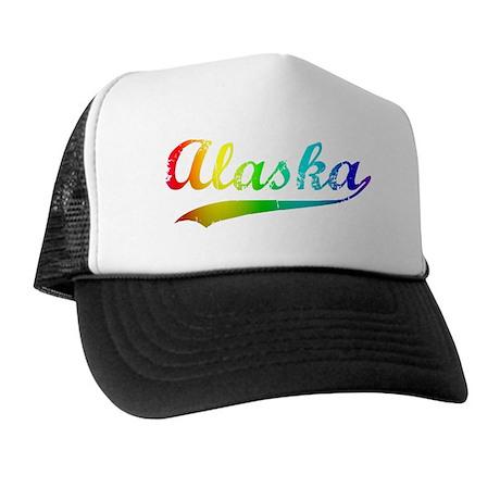 alaska rainbow Trucker Hat