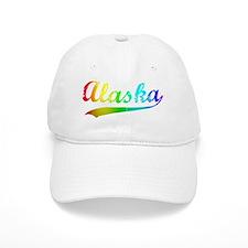 alaska rainbow Baseball Cap