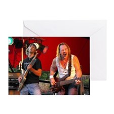 Mini Rock-n-Roll Poster Brother Greeting Card