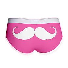 moustache3 Women's Boy Brief