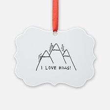 Hills Ornament