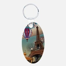Paris - Carrousel and Eiffe Keychains