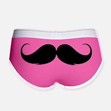 moustache2 Women's Boy Brief