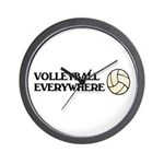 TOP Volleyball Everywhere Wall Clock