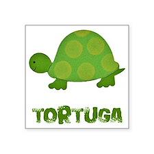 """tortuga Square Sticker 3"""" x 3"""""""