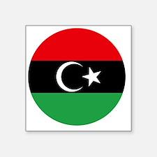 "5x5-Free_Libyan_Airforce_Ro Square Sticker 3"" x 3"""