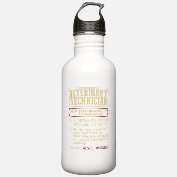 Veterinary Technician Water Bottle