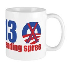 end-of-a-spending-spree-10x5 Mug