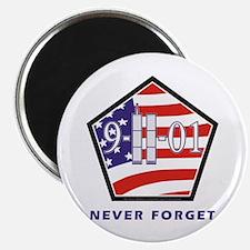 "NEVER Forget - 2.25"" Magnet (100 pack)"