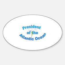 Pres. Ocean Oval Decal