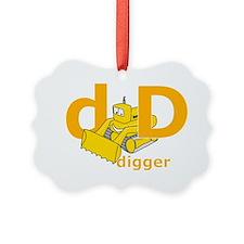DisforDigger Ornament