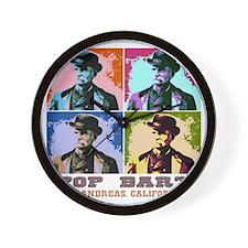 Pop Bart Wall Clock