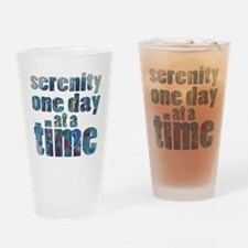 serenity-one-day-at-a-time Drinking Glass