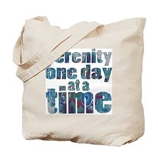 serenity-one-day-at-a-time Tote Bag