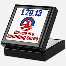 end-of-a-spending-spree-10x10 Keepsake Box