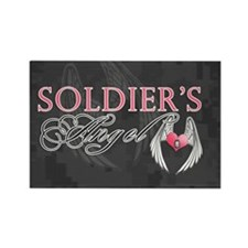 soldiers angel coin purse Rectangle Magnet