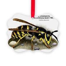 Common Yellowjacket Wasp Ornament