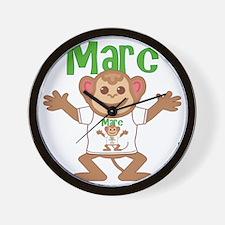 marc-b-monkey Wall Clock