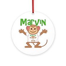 marvin-b-monkey Round Ornament