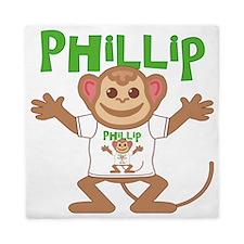 phillip-b-monkey Queen Duvet
