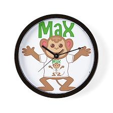 max-b-monkey Wall Clock