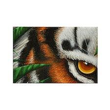 Tiger EyeEar (shoulder bag) 2 Rectangle Magnet