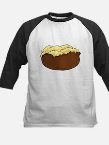 Baked potato Kids Baseball Jersey