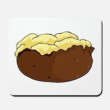 Baked potato Mousepad