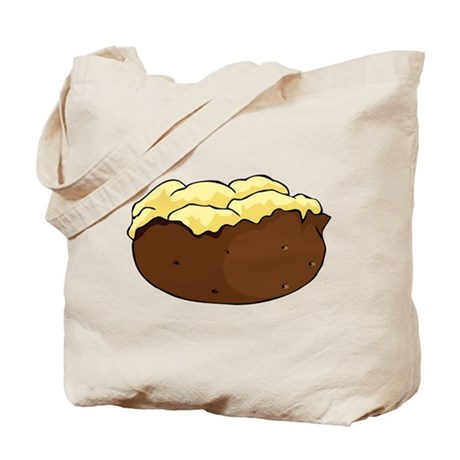 Baked potato Tote Bag