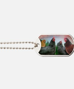 The-Ladies-Large-Framed-Print Dog Tags