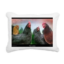The-Ladies-Large-Framed- Rectangular Canvas Pillow