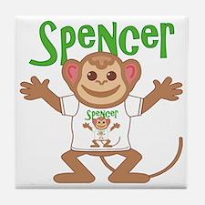 spencer-b-monkey Tile Coaster