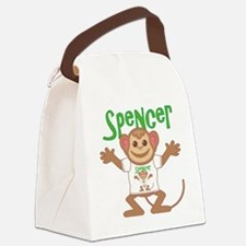 spencer-b-monkey Canvas Lunch Bag