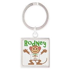 rodney-b-monkey Square Keychain