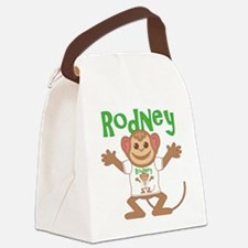 rodney-b-monkey Canvas Lunch Bag