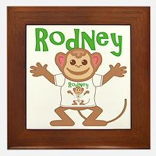 rodney-b-monkey Framed Tile
