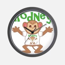 rodney-b-monkey Wall Clock