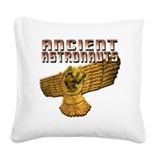 Ancient Astros Wings Square Canvas Pillow