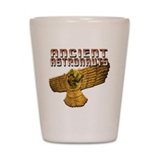 Ancient Astros Wings Shot Glass