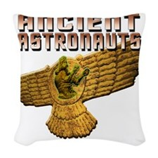 Ancient Astros Wings Woven Throw Pillow