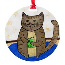 Fat Cat Ornament