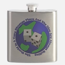 WhtT-The world is a very strange place Flask