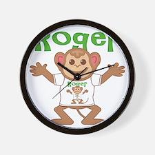 roger-b-monkey Wall Clock