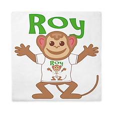 roy-b-monkey Queen Duvet