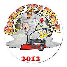 storm5 Round Car Magnet